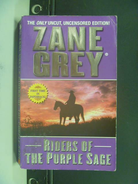 【書寶二手書T9/原文小說_OIJ】Riders of the Purple Sage_Zane Grey