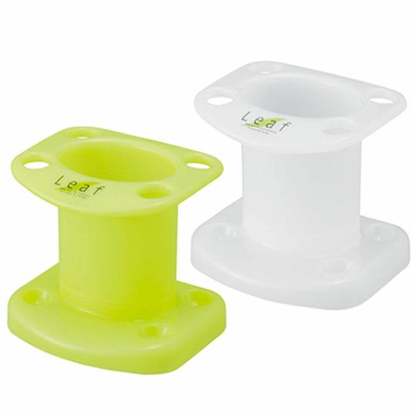 綠葉牙刷牙膏架 Leaf 浴室牙刷牙膏架 可收納4支牙刷 無毒 無味 放置牙刷 牙膏通風衛生【SV8387】BO雜貨