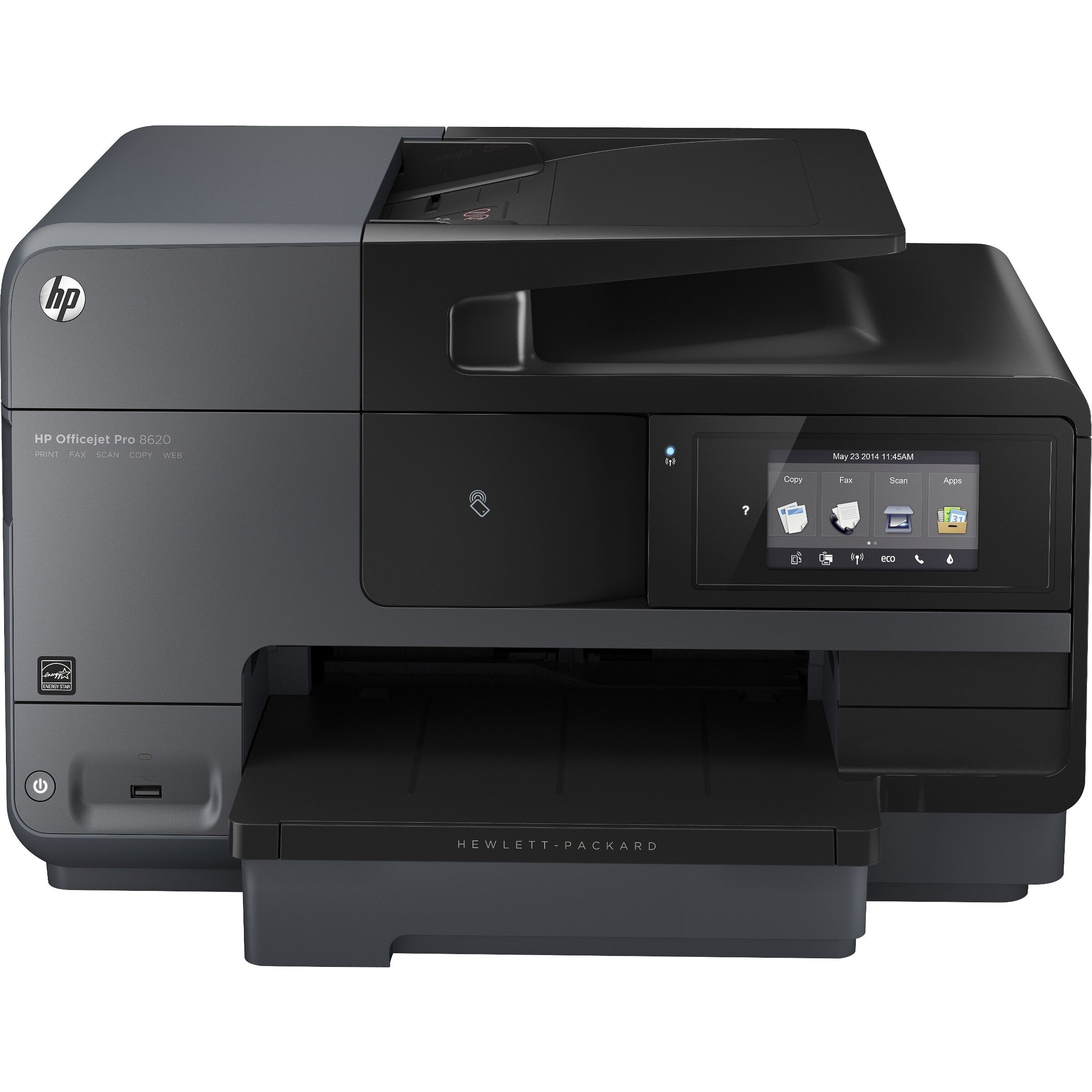 Refurbished HP Officejet Pro 8620 e-All-in-One Color Ink-jet - Fax / copier / printer / scanner 0