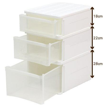 收納盒 CARO53 H28 高度28cm NITORI宜得利家居 4