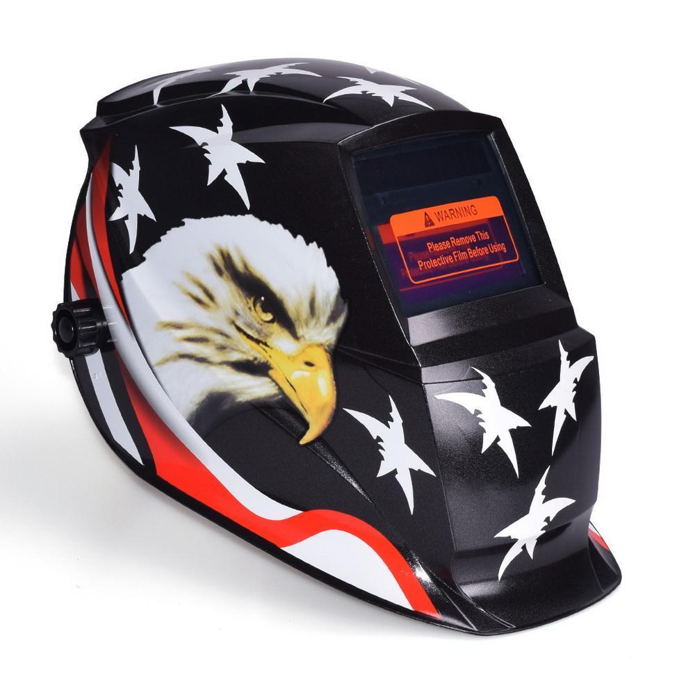 Professional Arc Tig Mig Solar Auto-Darkening Welding Helmet Mask 0