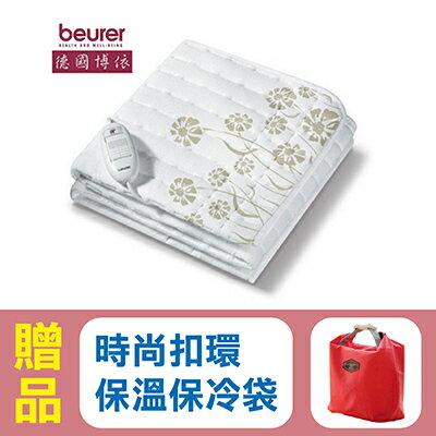 【德國博依beurer】原裝進口可水洗電熱毯/電熱墊 TS23 (單人長效型),贈品:時尚扣環保溫保冷袋x1