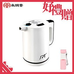 【買就送】尚朋堂1.2L分離式防燙快煮壺KT-1299【三井3C】