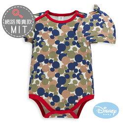 Disney Baby 雲朵米奇包屁衣附彈性帽