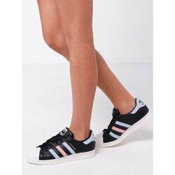 【日本海外代購】Adidas Superstar W 櫻花粉 貝殼 麂皮 黑色 皮革 奶油底 粉藍 金標 粉色 女