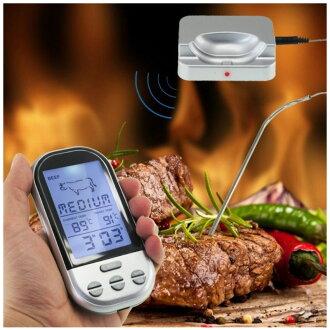 無線燒烤電子溫度計 食品溫度計 咖啡溫度計 食品溫度計 電子溫度計 溫濕度計 烘培溫度計 非筆式溫度計 針式溫度