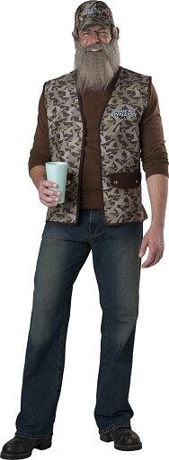 Duck Dynasty Commander Uncle Si Robertson Costume 032e2b682530577beacb38a4e793f3e2