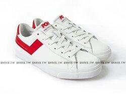 Shoestw【81M1TS01RD】PONY TOP STAR 板鞋 休閒鞋 皮革 白紅 男生 蔡依林 周筆暢 雙后代言