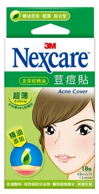 【3M】官方現貨 Nexcare  荳痘貼(滅菌)—茶樹精油 超薄綜合型 (18顆) (ETA018) - 限時優惠好康折扣