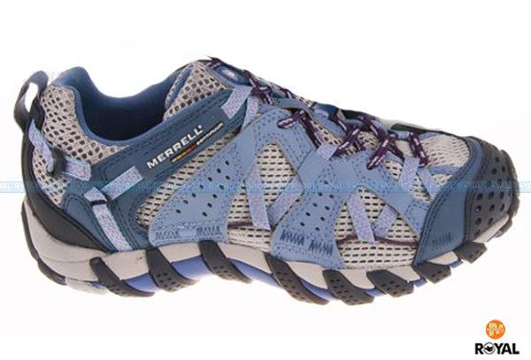 MERRELL 新竹皇家 WATERPRO MAIPO 紫藍 防水 水陸兩棲 溯溪鞋 女款 NO.I6747