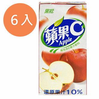 黑松 蘋果C 維他命C果汁飲料 300ml (6入)/組