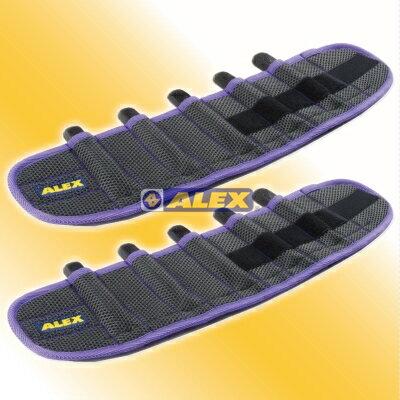 【登瑞體育】ALEX 第二代十格式鑄條加重器(對)-2.2KG  C2501