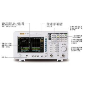 RIGOL DSA1030-TG頻譜分析儀 - (全機三年保固)