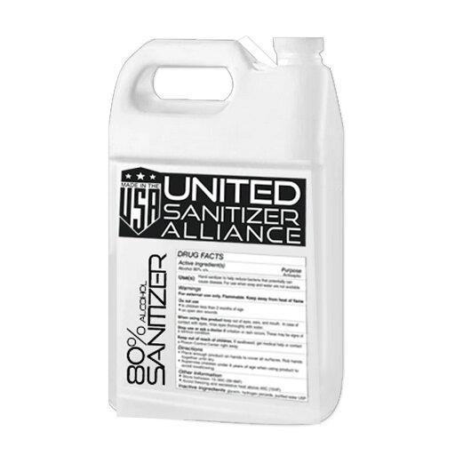 United Sanitizer Multipurpose Bulk Liquid Based Hand Sanitizer - 1 Gallon