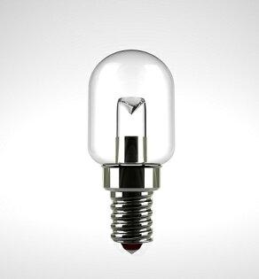 凌尚照明:★凌尚★T型透明LED指示型燈泡E14燈頭★黃光★台灣製