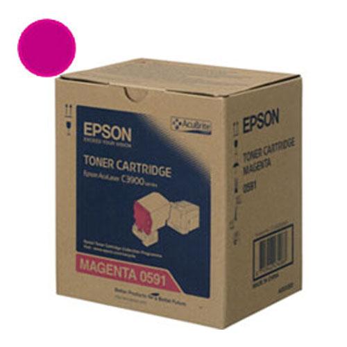 【EPSON 碳粉匣】S050591 洋紅色原廠碳粉匣 C3900/CXC37