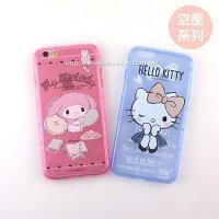 美樂蒂My Melody周邊商品推薦到【Sanrio 】iPhone 5 /5S /SE 防摔氣墊空壓保護套-素描系列