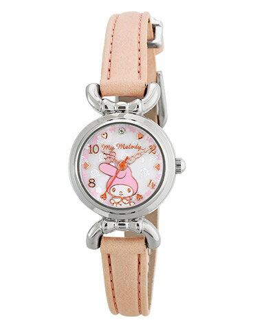 X射線【C311581】美樂蒂 手錶(粉),石英錶/機械錶/錶款/運動錶/潛水錶/座鐘/掛鐘/娃娃鐘/鬧鐘