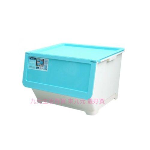~九元 ~聯府 LV800~1 前開式65L整理箱^(藍^) 置物 收納 LV8001