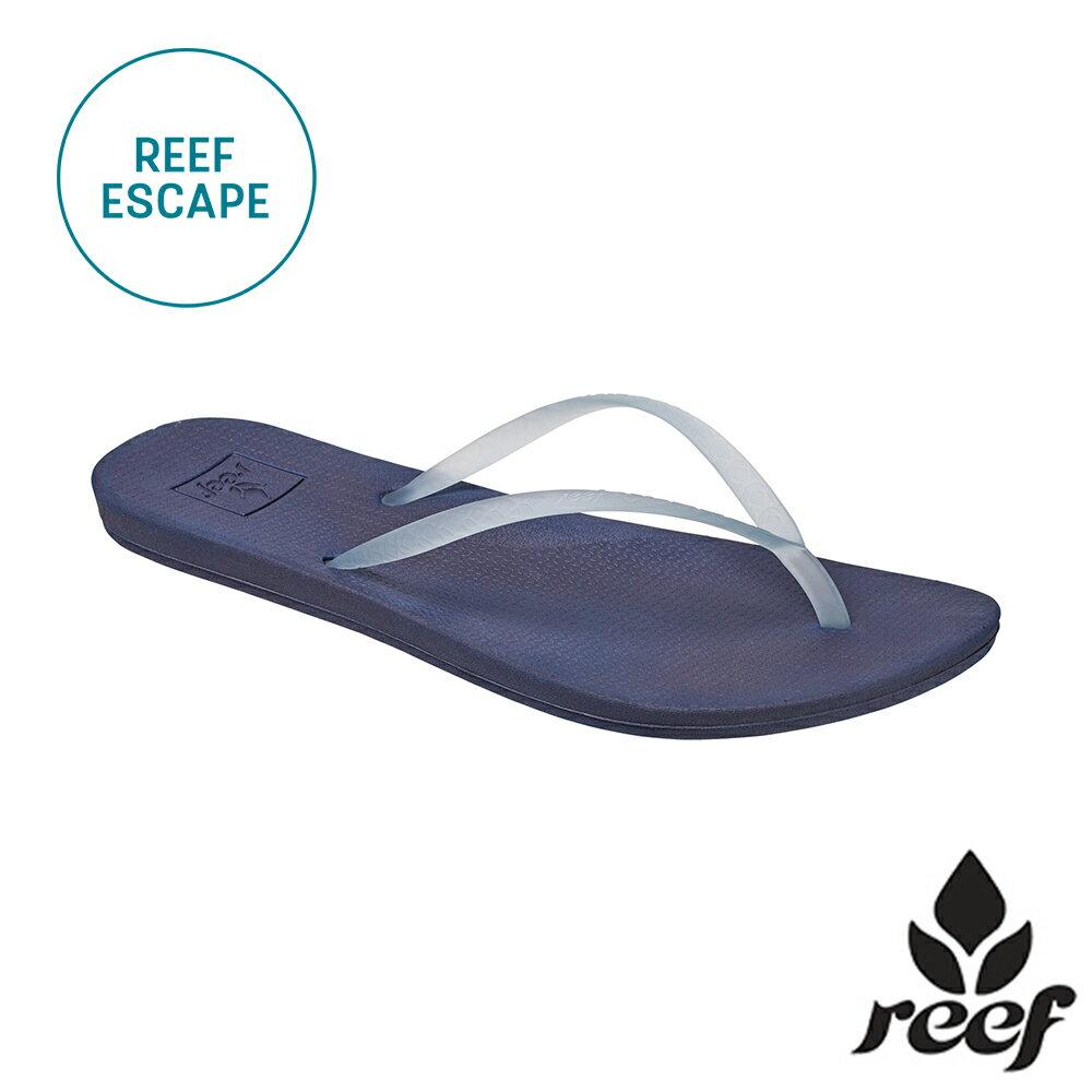 【79 折優惠↘】REEF ESCAPE 科技 防滑耐磨舒適好穿 基本款橡膠人字拖 夾腳拖鞋2.0 . 藍
