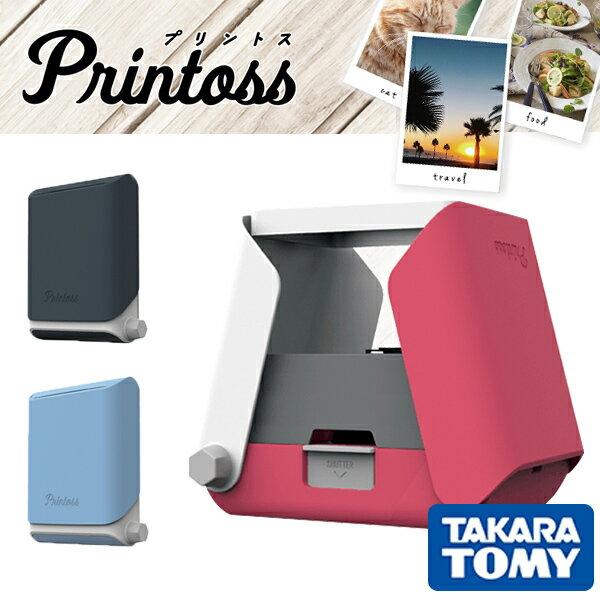 日本TAKARA TOMY/ Printoss智慧型手機相印機(不含相紙)/TPJ-03SA。共1色-日本必買 日本樂天代購(4590*0.5)