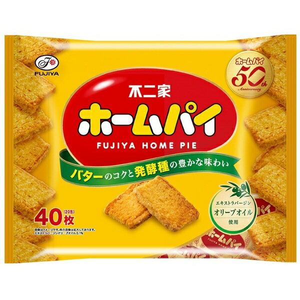 【FUJIYA不二家】HOME PIE家庭千層派-奶油口味 40枚入 ホームパイ 200g 日本進口餅乾 3.18-4 / 7店休 暫停出貨 1