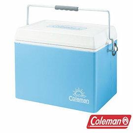 桃源戶外 Coleman 美國藍復古鋼甲冰箱 26.5L |保冷|保溫|冰桶 CM-22233