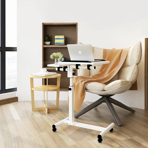 【HappyLife】筆電桌 升降電腦桌 NB桌 床邊桌 懶人桌 沙發桌 邊桌 茶几 電腦架 旋轉式 YV9227