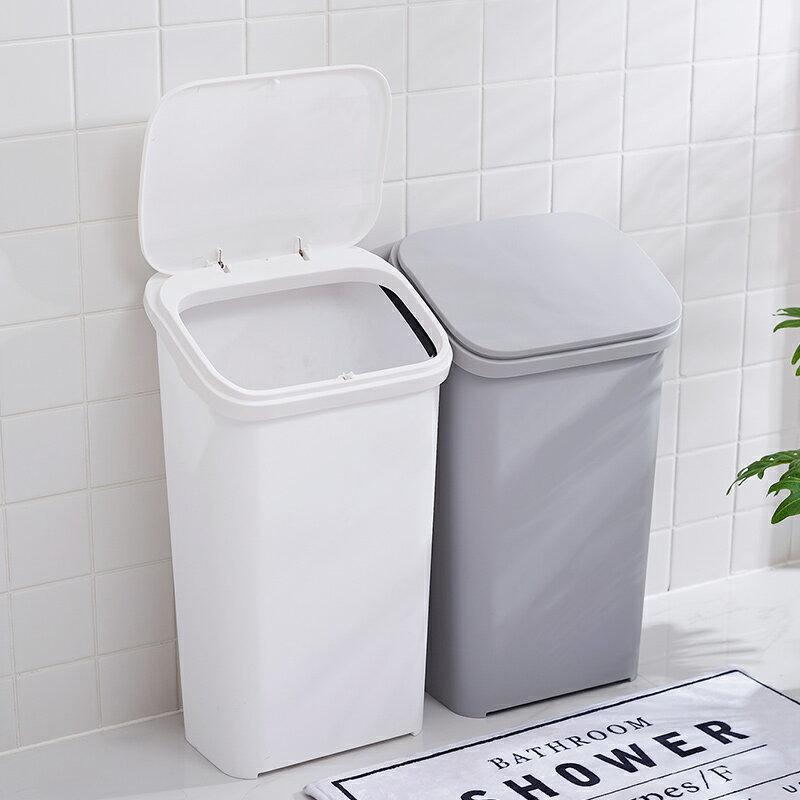 11.11 家用按壓式大號分類垃圾桶 衛生間帶輪子垃