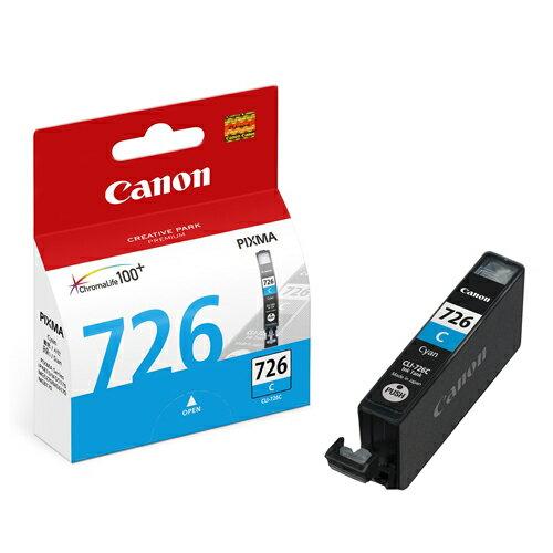 CANON CLI-726C 原廠藍色墨水匣 CLI-726 C 適用 ix6560