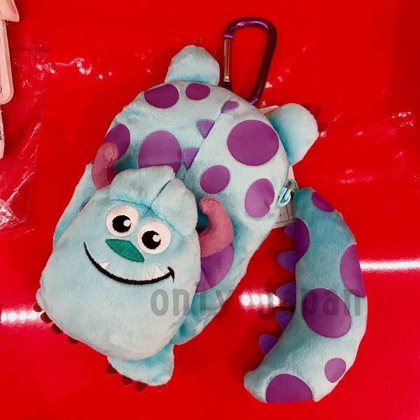 【真愛日本】14082600043造型數位包袋-毛怪迪士尼限定造型包數位包3c包毛怪怪獸電力公司日本帶回