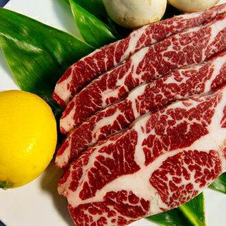 安格斯牛小排燒肉片220g~肋脊部~ 肉汁甘甜、口感軟嫩 燒烤過程中油汁會隨著高溫流出,香