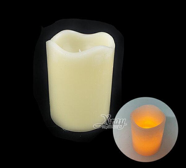 X射線【X058081】中號仿真蠟燭,聖誕節/萬聖節/蠟燭/擺飾/派對/燈飾/LED/夜燈/聖誕裝飾/萬聖裝飾/燈/小燈/聖誕燈/燈具