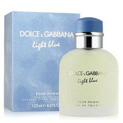 D&G  Light Blue   淺藍男性淡香水75ml/125ml -【BUY MORE】