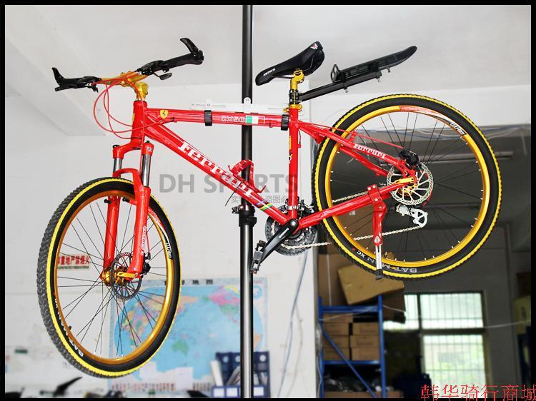 頂天立地自行車架4m