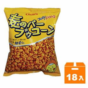 韓國 CROWN 皇冠 甜麥仁 餅乾 90g (18入)/箱
