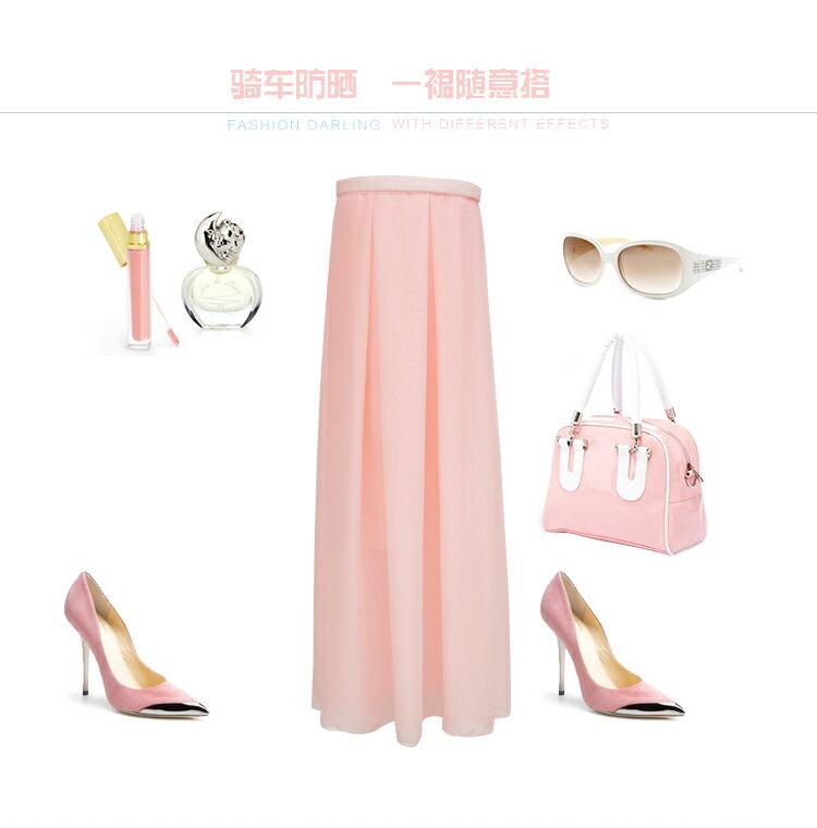夏日機車防曬裙 (顏色 隨機出貨)(現貨+預購)