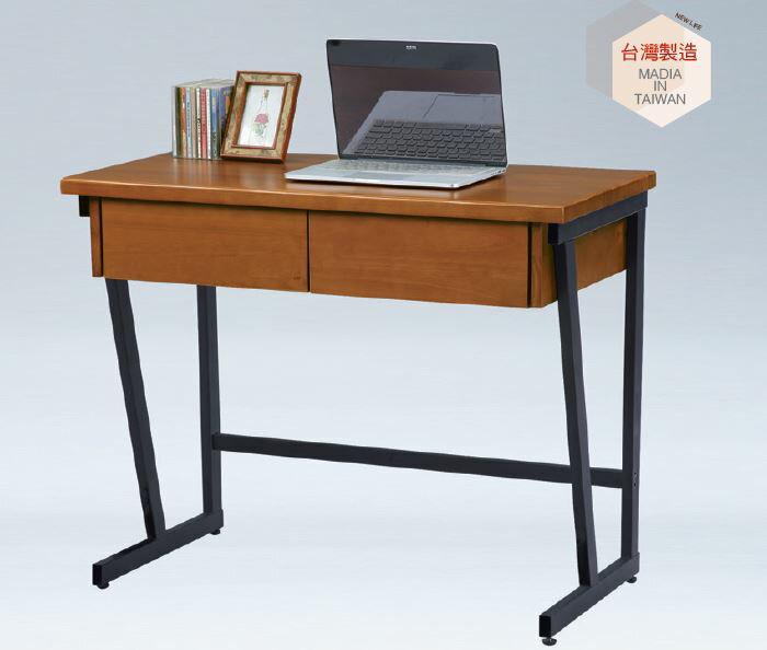 【尚品家具】SN-66-1 喬丹實木書桌 3尺 / 4尺