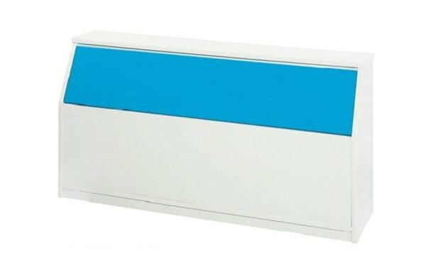 【石川家居】847-07(5尺藍白色)床頭箱(CT-209)#訂製預購款式#環保塑鋼P無毒防霉易清潔