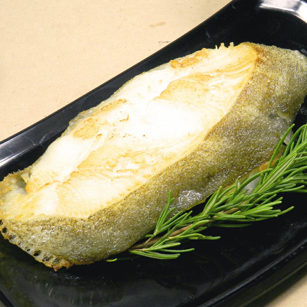《好神》格陵蘭無肚洞厚切比目魚(扁鱈)(12片組) - 限時優惠好康折扣