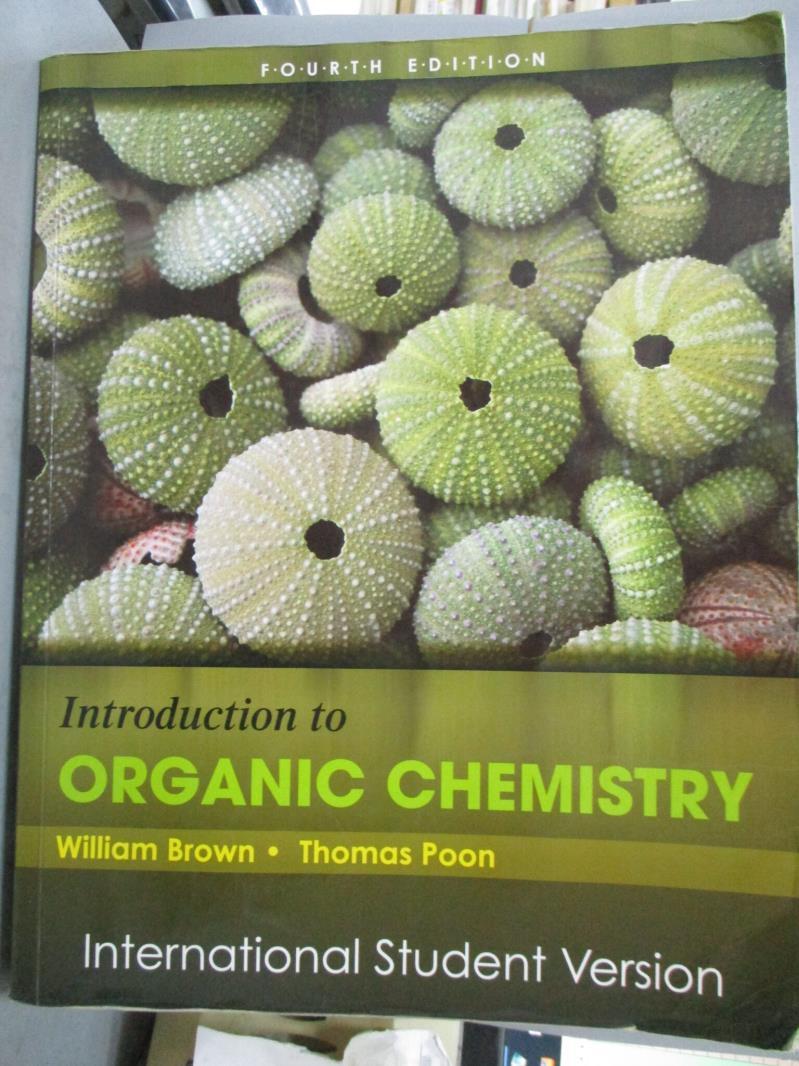 【書寶 書T4/大學理工醫_WGI】Introduction to Organic Chemistry_William