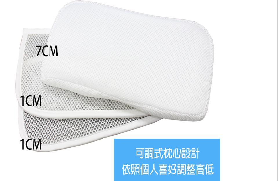 優惠促銷中 炮仔聲【YAMAKAWA】第二代 新款雙色 全方位可調式護頸枕 枕頭 / 家E枕【尚好購】 9