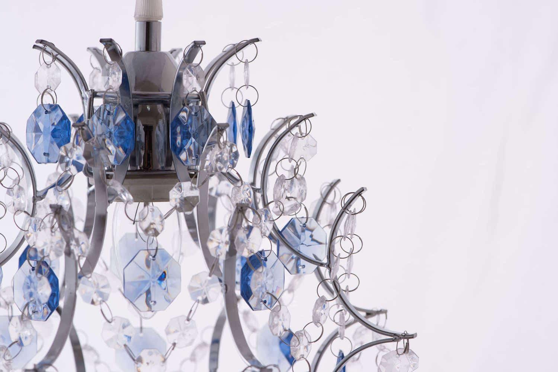 優雅鍍鉻架壓克力珠吊燈-BNL00044 2