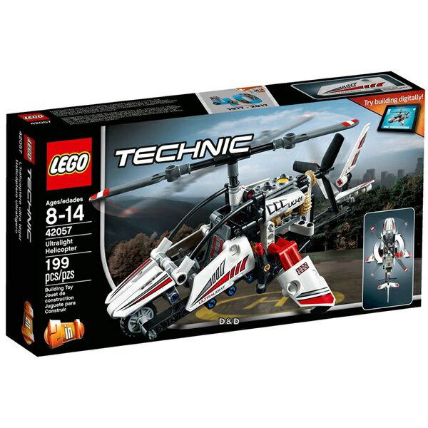 樂高積木LEGO《 LT42057》2017 年 Technic 科技系列 - 超輕型直升機