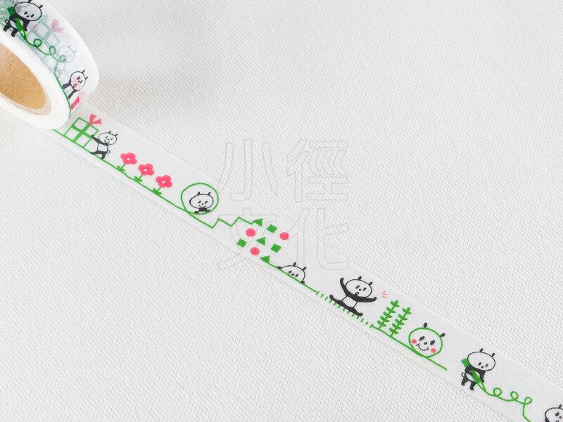 ~小徑文化~  mizutama 原創和紙膠帶 ~ 熊貓 ^( 35~610 ^)