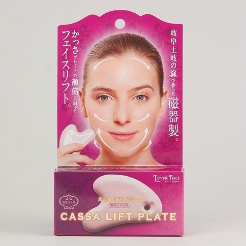 日本 Loved Face 臉部按摩瓷器 刮痧板 小臉 V臉 血液循環 按摩淋巴非 ReFa CARAT654362