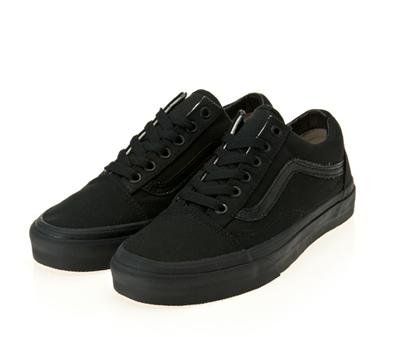 <br/><br/>  Vans Old Skool 黑色 男女鞋<br/><br/>