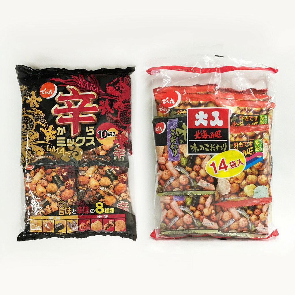 天六 綜合小魚豆果子 大入14袋入 / 辣味什錦豆果子10袋入