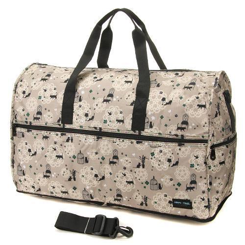 【百倉日本舖】日本進口 HAPI+TAS折疊式大波士頓包/旅行袋/手提袋