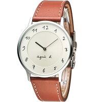 agnès b.眼鏡推薦到agnes b.法式優雅手寫體時標時尚腕錶 VJ20-K240J BJ5006X1就在寶時鐘錶推薦agnès b.眼鏡